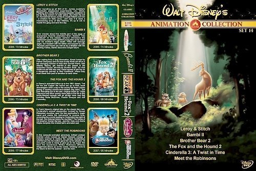 dvd cover Walt Disney's Classic Animation Collection Set 14