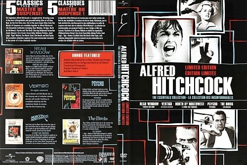 dvd cover Alfred Hitchcock The Essentiels Collection