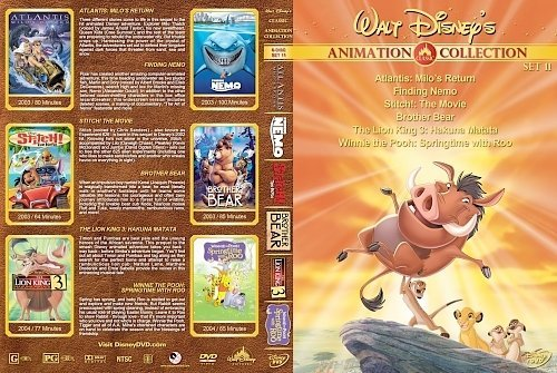 dvd cover Walt Disney's Classic Animation Collection Set 11