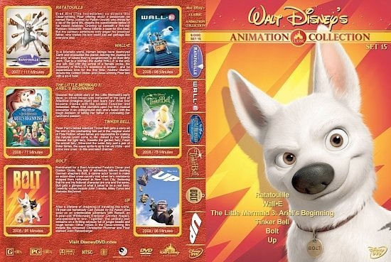 dvd cover Walt Disney's Classic Animation Collection Set 15