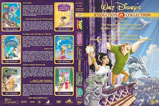 dvd cover Walt Disney's Classic Animation Collection Set 6