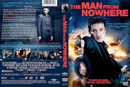 dvd cover The Man From Nowhere1