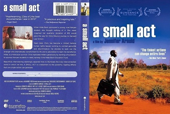 dvd cover A Small Act