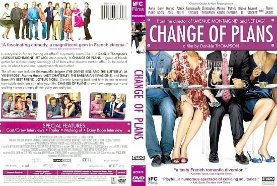 dvd cover Change Of Plans