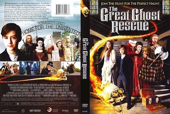 dvd cover Great Ghost Rescue