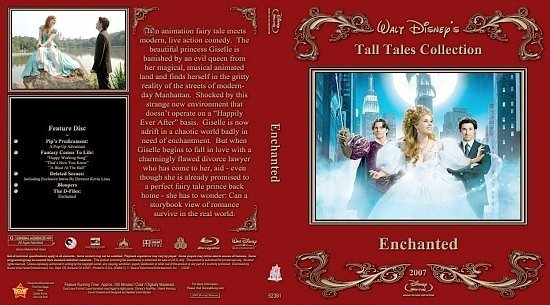 dvd cover Enchanted