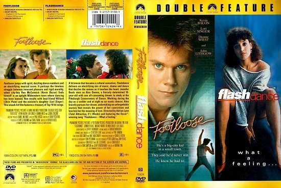 dvd cover Footloose/Flashdance Double Feature