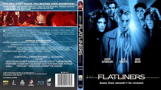 dvd cover Flatliners
