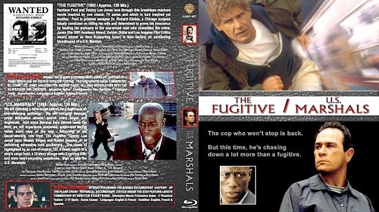 dvd cover The Fugitive / U.S. Marshals