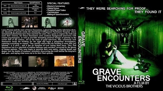 dvd cover Grave Encounters