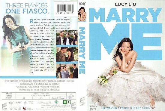 dvd cover MARRY ME