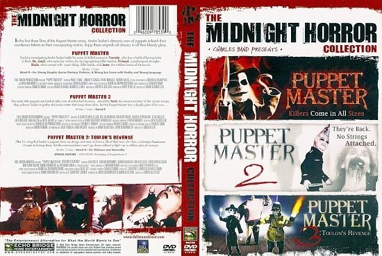 dvd cover The Midnight Horror Collection Volume 1