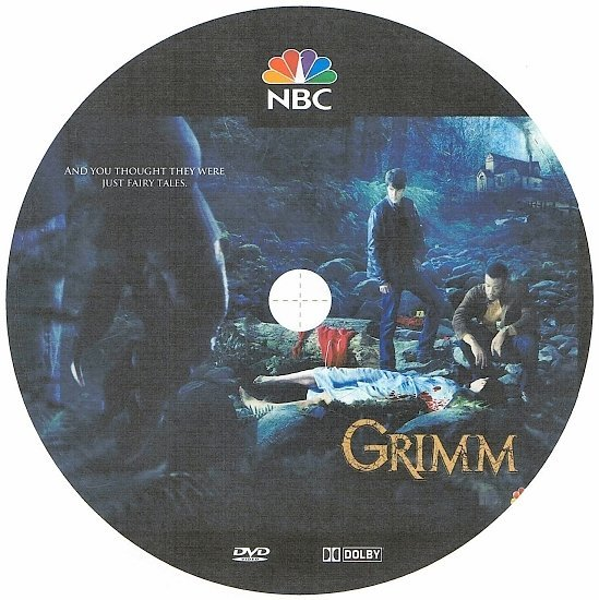 dvd cover Grimm: Season 1 (2011) R1 CUSTOM
