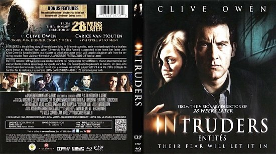 dvd cover Intruders