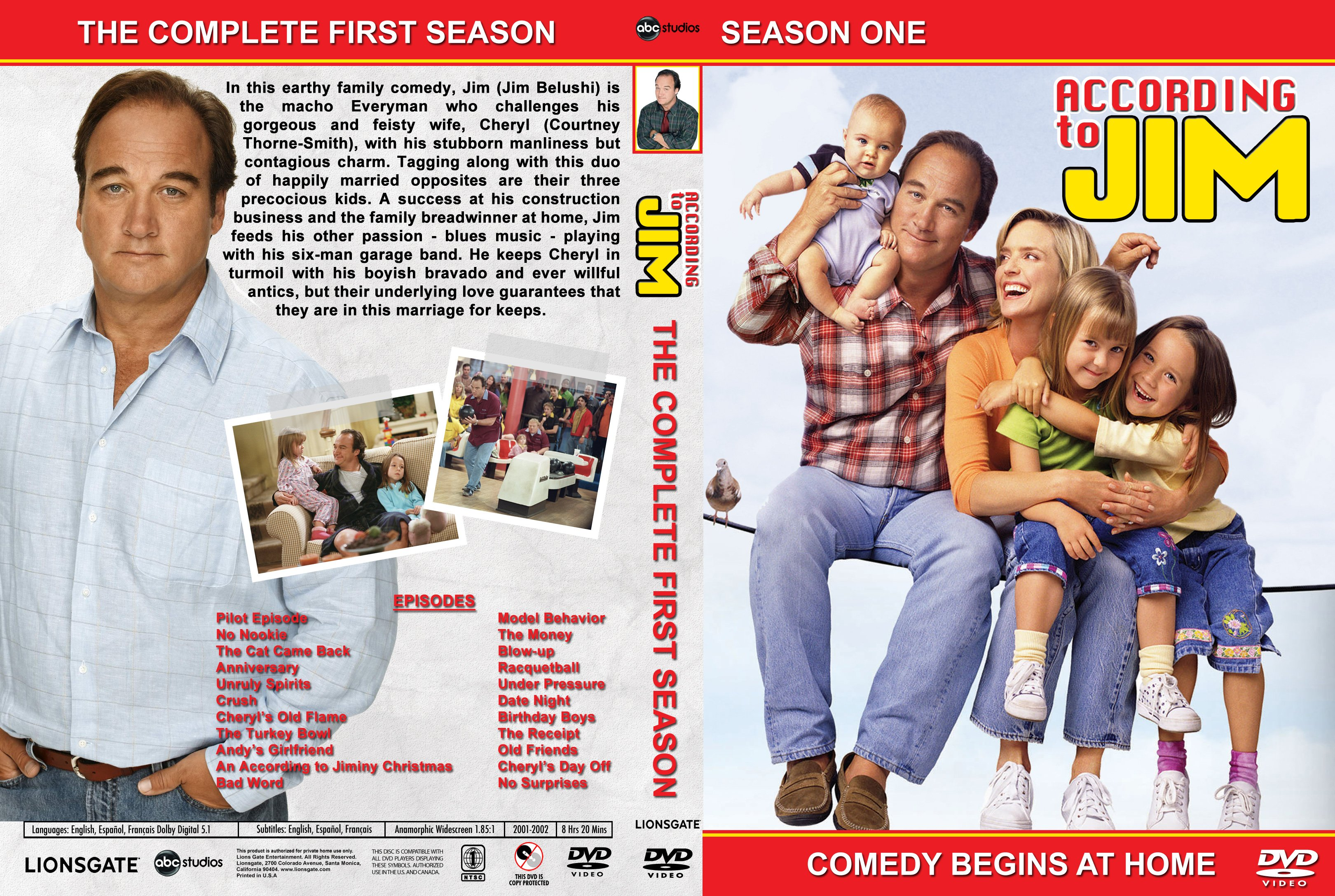 According to Jim: All Seasons R1 | Dvd Covers and Labels