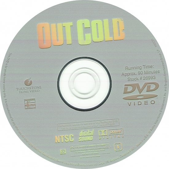 dvd cover Out Cold (2001) WS R1