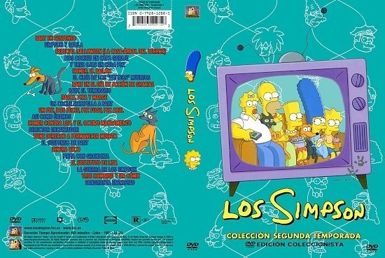 dvd cover The Simpsons: Season 2 (Spanish)