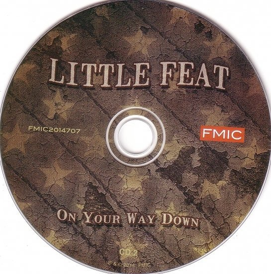 dvd cover Little Feat - On Your Way Down