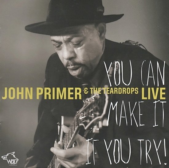 dvd cover John Primer & The Teardrops - You Can Make It If You Try