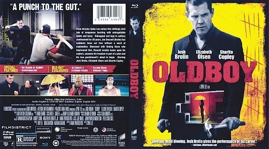 dvd cover Oldboy R1 Blu-Ray