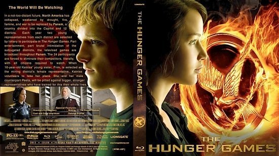 dvd cover Hunger Games