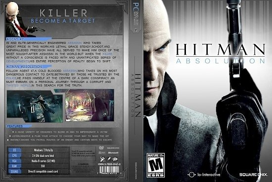dvd cover Hitman Absolution