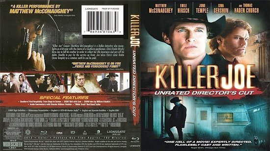 dvd cover Killer Joe