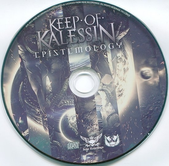 dvd cover Keep Of Kalessin - Epistemology (Russia)