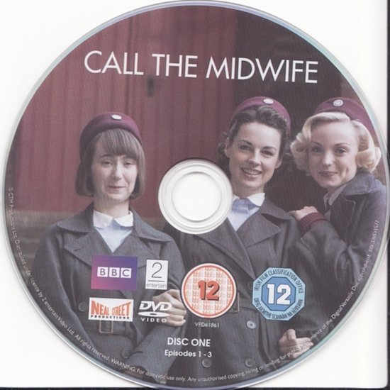dvd cover Call The Midwife R2