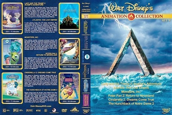 dvd cover Walt Disney's Classic Animation Collection Set 9