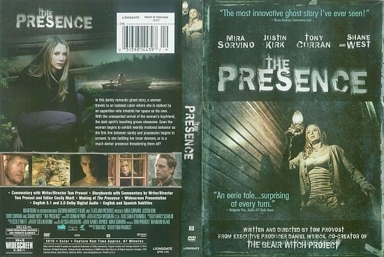 dvd cover The Presence