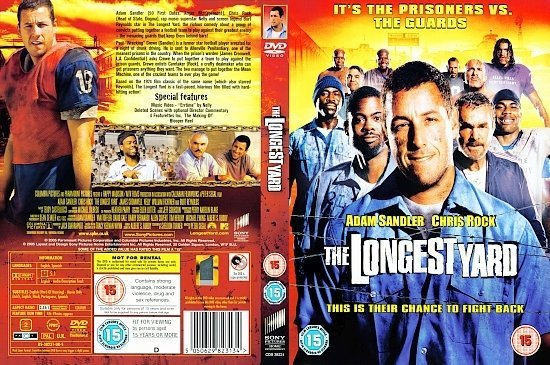 dvd cover The Longest Yard (2005) R2