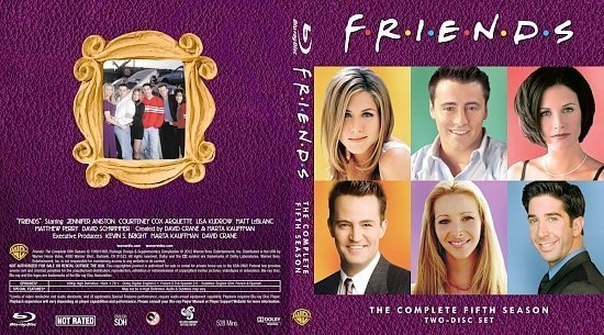dvd cover Friends The Complete Fifth Season
