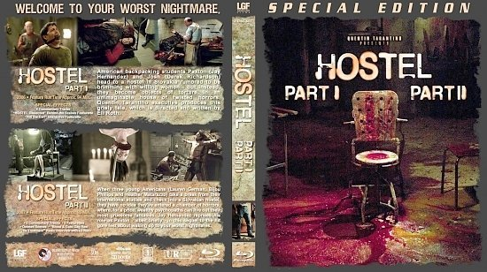dvd cover Hostel Double Feature