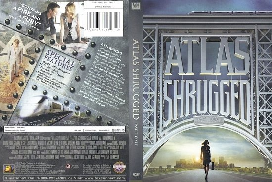 dvd cover Atlas Shrugged Part One