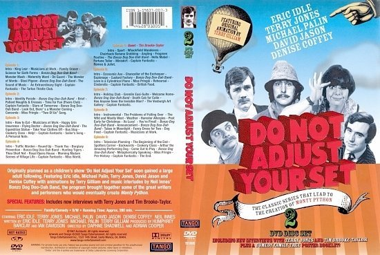 dvd cover 3123Do Not Adjust Your Set
