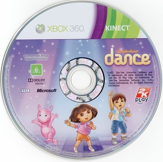 dvd cover Nickelodeon Dance PAL