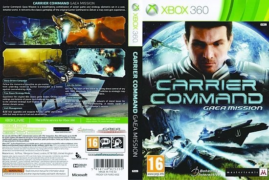 dvd cover Carrier Command: Gaea Mission PAL