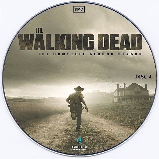 dvd cover The Walking Dead (2011) Season 2 - CD Labels