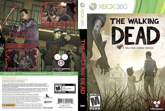 dvd cover THE WALKING DEAD - Front Custom Cover