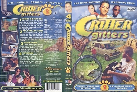 dvd cover Critter Gitters Volume 2 (1998-TV) R0
