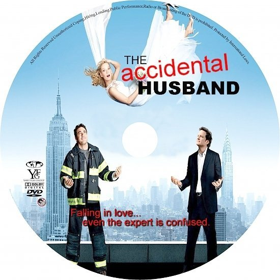 dvd cover The Accidental Husband (2008) R1