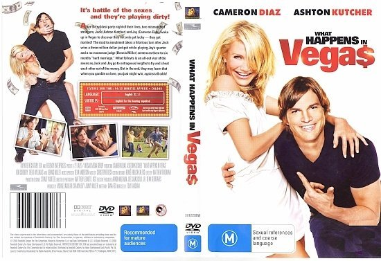 dvd cover What Happens In Vegas (2008) R4