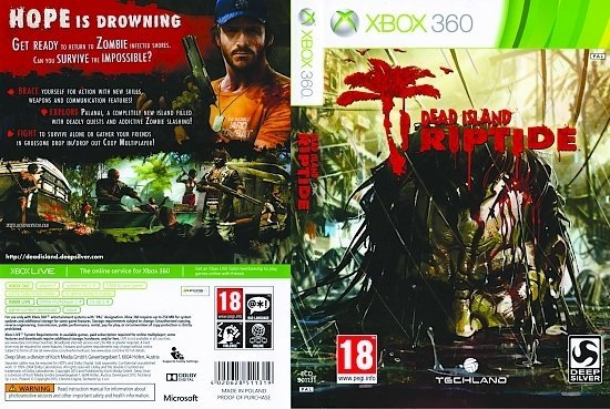 dvd cover Dead Island Riptide PAL
