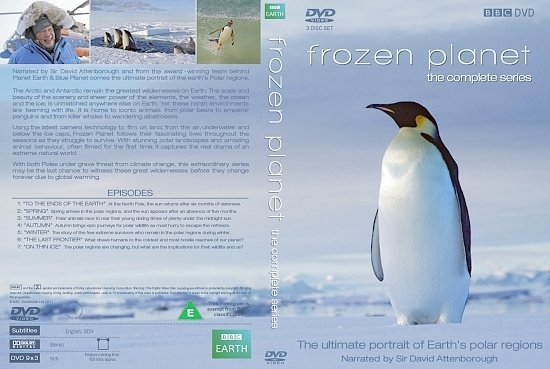 dvd cover BBC Frozen Planet