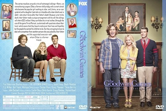 dvd cover The Goodwin Games: Season 1