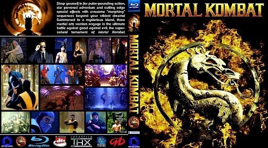 dvd cover Mortal Kombat