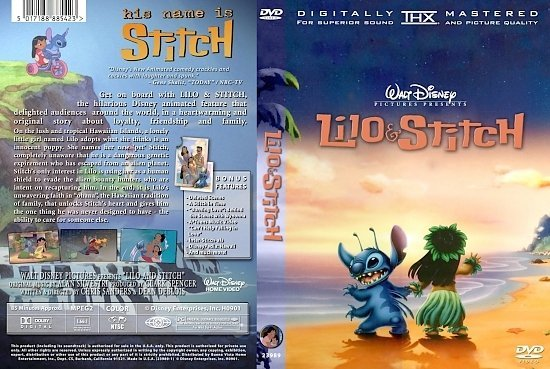 dvd cover Lilo and Stitch