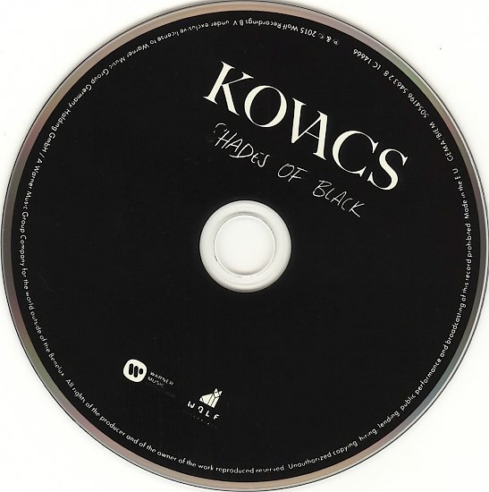 dvd cover Kovacs - Shades Of Black