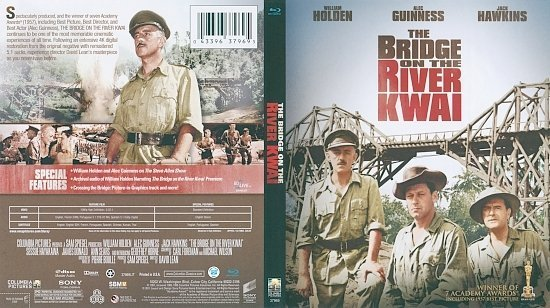 dvd cover The Bridge on the River Kwai (1957) Blu-Ray